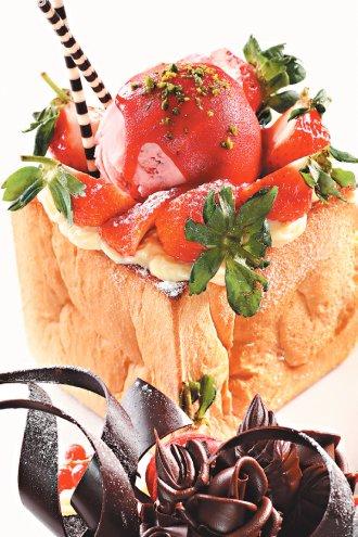 就愛草莓蜜糖吐司 -捷運美食-捷運忠孝敦化站-捷運美食-喜生米漢堡分享