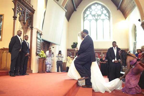 Reflections...Down the aisle