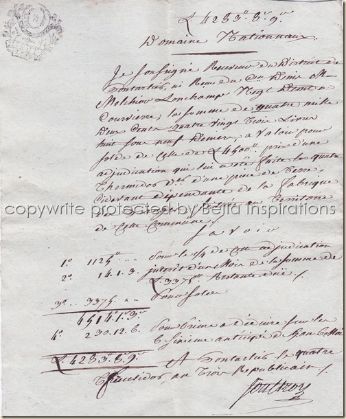 French Documents 004