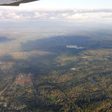 Samolot nad Olympią