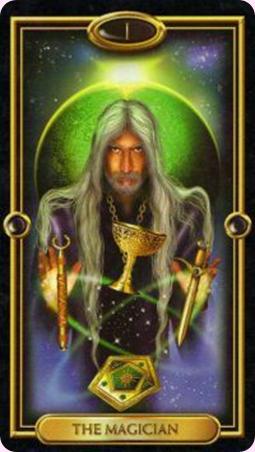 The Magician Gilded Tarot