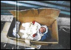 abando de recem nascido NÃO