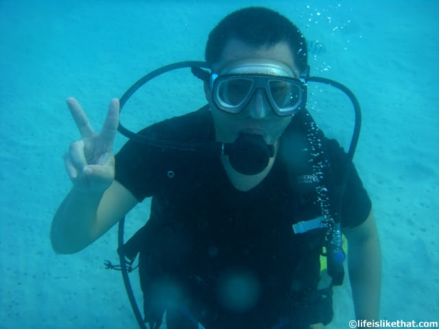 My First Ever Scuba Diving at Redang picture redang escapade  photo