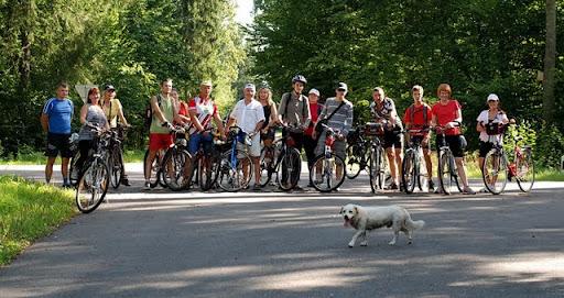 Велоклуб КолаБок  провел прощание с летом в Пуще