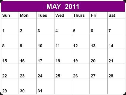 E5_Printable_May_2011_Blank_Calendar