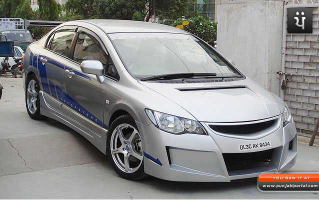 honda city modified