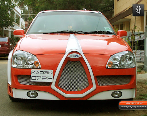 Daewoo cielo modified, indian custom modifications