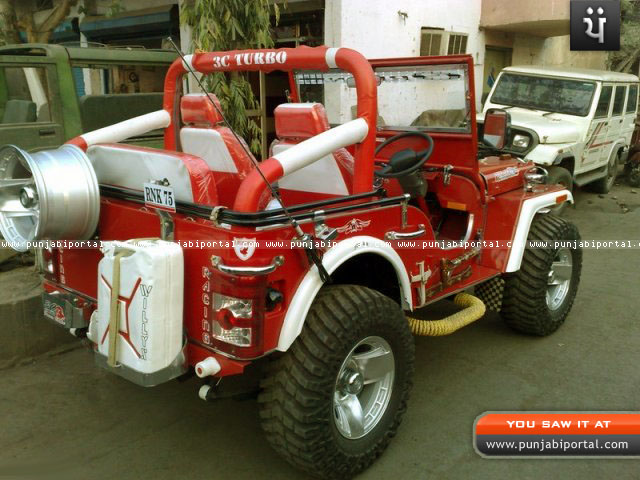 Willy Jeep In Punjab Landi Jeep Open Jeep 5