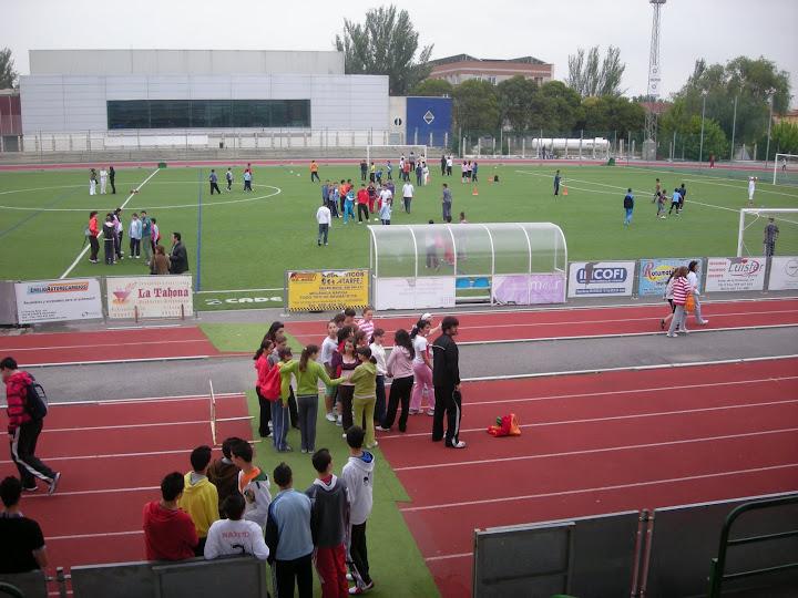 Competiciones deportivas intercentros