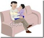 fathersonclipart
