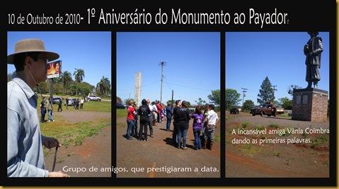 1º Aniversário Monumento JCB