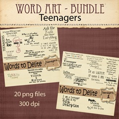 LR_TEENAGERS_wordartbundle
