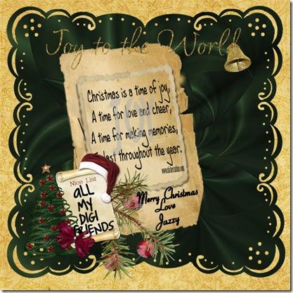 Christmas Card RS