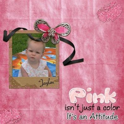 Kim_Pink Attitude