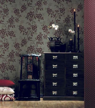En mi espacio vital muebles recuperados y decoraci n - Papeles pintados la maison ...