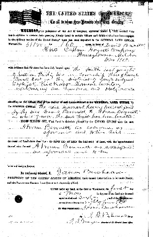 [Bennett Abram - David BLM Land Warrant Doniphan Co Kansas 1 May 1860b[9].jpg]