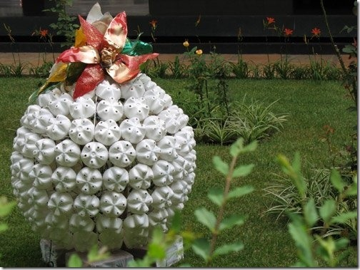 Декоративные поделки для сада своими руками мастер класс
