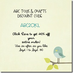 ABC Toys Discount Code 2010