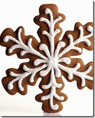 Tuesday Trigger Gingerbread Snowflakes