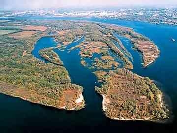 Khortytsya island (UNIAN)