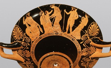 Attic red-figure Kylix, ca. 440 BC