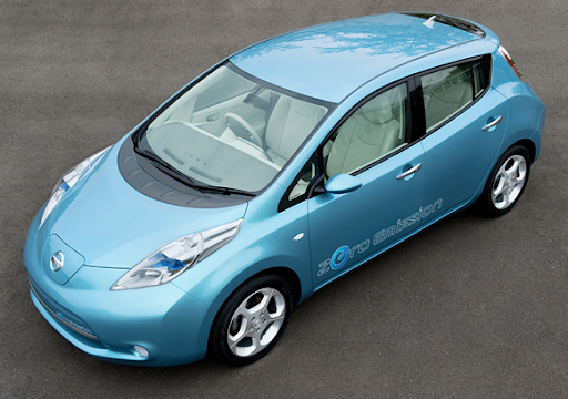electric cars 2010. 2010 Nissan Leaf electric car