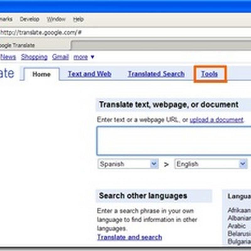 Cara Memasukkan Google Translate Ke Dalam Blog