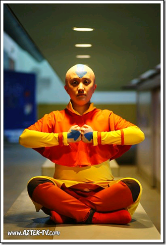 avatar: the last airbender cosplay - aang