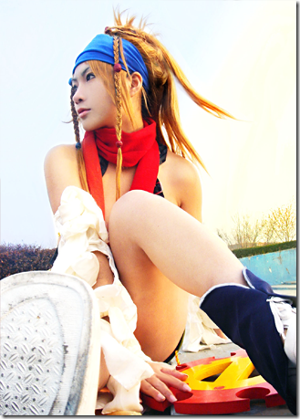 final fantasy x-2 cosplay - rikku 09