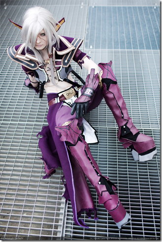 star ocean 4 the last hope cosplay - arumat p. thanatos