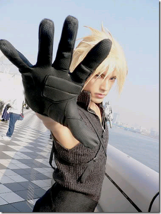 final fantasy vii advent children cosplay - cloud strife 05