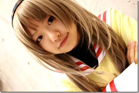 clannad cosplay - sakagami tomoyo