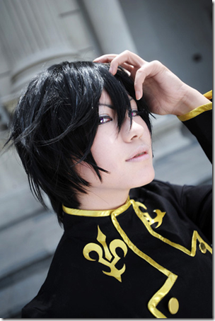 code geass cosplay - lelouch lamperouge / lelouch vi britannia