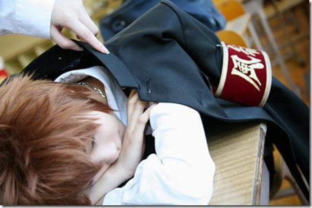 unknown cosplay 025 katekyo hitman reborn! cosplay - tsunayoshi tsuna sawada and kyoya hibari