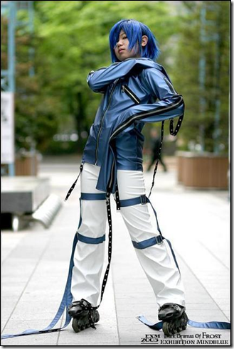 air gear cosplay - wanijima akito/ agito