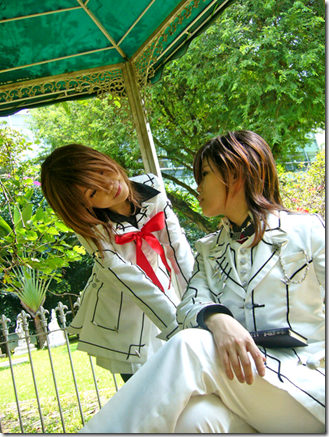 vampire knight cosplay yuki. On winter evening, Yuki finds
