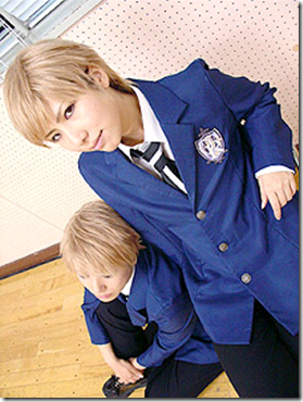 ouran high school host club cosplay - hitachiin hikaru and hitachiin kaoru
