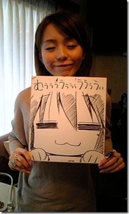 hirano aya - izumi konata smile
