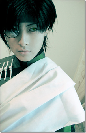 gensomaden saiyuki / journey to the west cosplay - cho hakkai