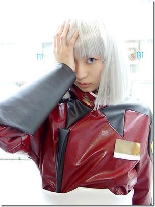 gundam seed cosplay - yzak joule