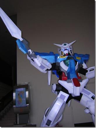 gundam 00 cosplay - gn-001 gundam exia
