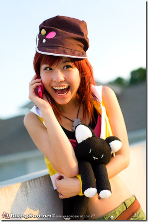 the world ends with you cosplay - shiki misaki