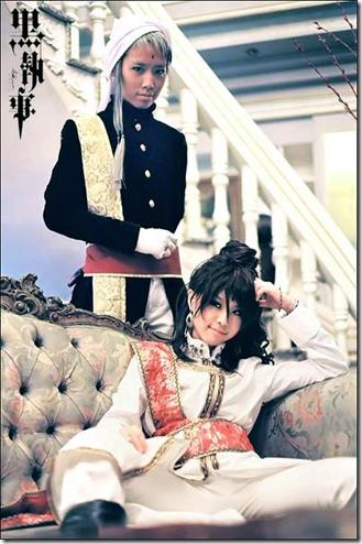 kuroshitsuji / black butler cosplay - agni and prince soma asman cadart