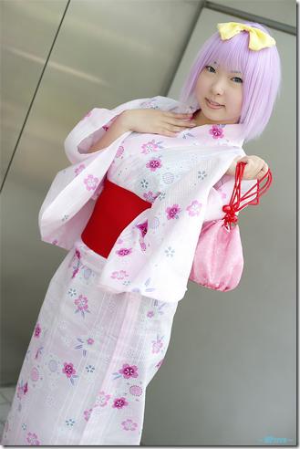 lucky star cosplay - hiiragi tsukasa