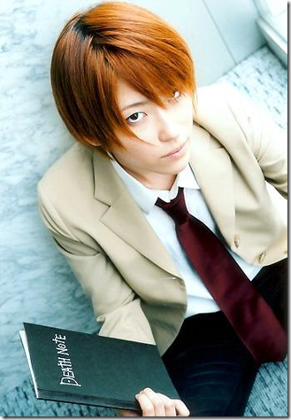 death note cosplay - yagami light raito 02 aka kira