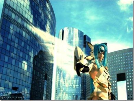 xenosaga cosplay - kos-mos 02
