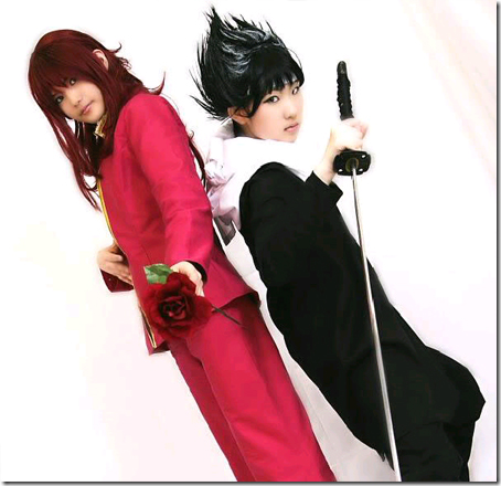 yu yu hakusho cosplay - kurama and hiei 03