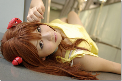 neon genesis evangelion cosplay - soryu asuka langley 03