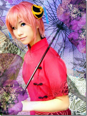 gintama cosplay - kagura 02