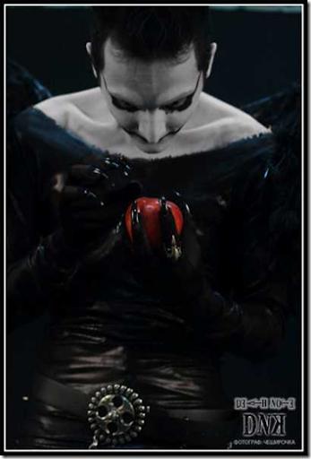 death note cosplay - ryuk